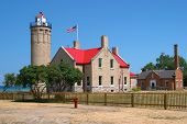 Lighthouse � Great Lakes poster