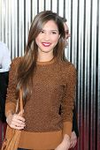 LOS ANGELES - OCT 2:  Kelsey Chow arriving at the