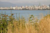 picture of jericho  - Vancouver BC Canada Downtown City Skyline from Hasting Mills Park - JPG