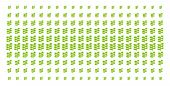 Flora Plant Icon Halftone Pattern, Designed For Backgrounds, Covers, Templates And Abstract Composit poster