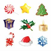 Christmas Icons.Eps