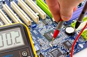 Baseline Measurement And Testing To The Pc Motherboard