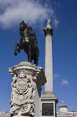 Trafalgar Square in London.  UK