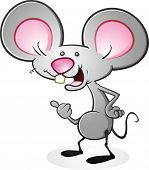 foto of buck teeth  - A cartoon mouse giving a thumbs up - JPG