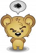 Stern Frustrated Teddy Bear