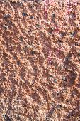 Rough Durable Textured Stucco Wall Coating. Abstract Patchy Background. poster