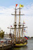 Russian Replica Galleon The Shtandart