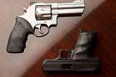 Vs-Pistole Revolver
