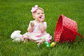 Easter Baby Spill Eat