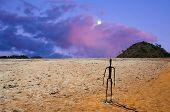 Sunrise -  Lake Ballard-(salt Pan) In The Northern Goldfields (desert Region) Of Western Australian