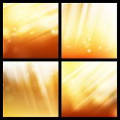 Sunlight Background Set Vector. Abstract Shining Background. Glowing Explosion. Sunrise Wallpaper. S poster