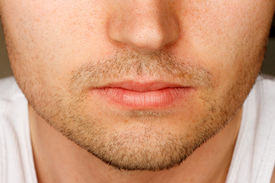 picture of wife-beater  - Close up of man - JPG