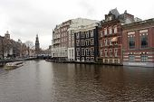 South Amsterdam With The Clock Tower