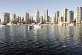 Yaletown And False Creek From Granville Island