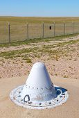 stock photo of icbm  - Minuteman Missile National Historic Site - JPG