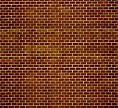 Decorative Red Brick Wall