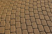 Cobbled Paving Stones