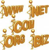 Biz Oro Com Net Org Www símbolos