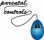 Mouse With Wire Parental Controls.