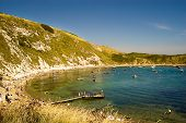 Lulworth Bay.