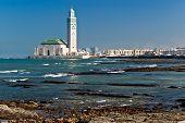 King Hassan Ii Mosque, Casablanca, Morocco