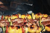 Barbecues (shashlik)