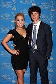 LOS ANGELES - JUN 17:  Kristen Alderson, Eddie Alderson arrives at the 2012 Daytime Creative Emmy Awards at Westin Bonaventure Hotel on June 17, 2012 in Los Angeles, CA