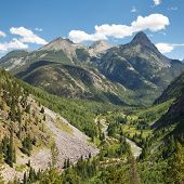 San Juan Mountains Scenery In Colorado