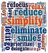 Simplify in word collage