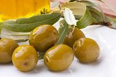 aceitte natural green olives, Mediterranean diet products