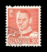 Danish Post Stamp