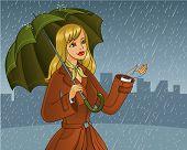 Rain girl