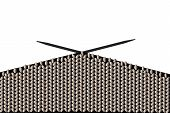 knitting wool illustration