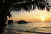 Sunrise At Koh Rong Island, Cambodia