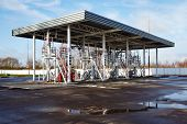 steel industrial tanks and oil storage