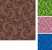 Seamless swirls pattern II