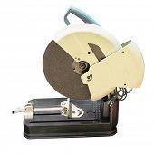 grinder machine under the white background