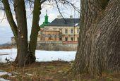 Spring Pidhirtsi Castle View (ukraine)