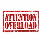 Attention Overload-stamp