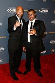 NEW YORK-APR 26: Comedians Keegan-Michael Key (L) and Jordan Peele attend the American Comedy Awards