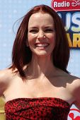 LOS ANGELES - APR 26:  Annie Wersching at the 2014 Radio Disney Music Awards at Nokia Theater on Apr