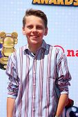 LOS ANGELES - APR 26:  Jacob Bertrand at the 2014 Radio Disney Music Awards at Nokia Theater on Apri