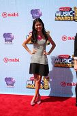 LOS ANGELES - APR 26:  Tiffani Espensen at the 2014 Radio Disney Music Awards at Nokia Theater on Ap