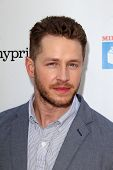 LOS ANGELES - APR 27:  Josh Dallas at the Milk + Bookies Story Time Celebration at Skirball Center o