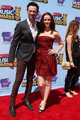 LOS ANGELES - APR 26:  Stephen Full, Annie Wersching at the 2014 Radio Disney Music Awards at Nokia