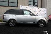 LOS ANGELES - APR 25:  2014 Range Rover at the 2014 LA Modernism Show Opening Night at 3Lab on April