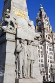 Memorial To The Engine Room Heroes In Liverpool