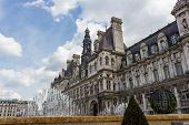 picture of rebuilt  - The town hall of Paris - JPG
