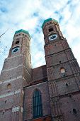 The Church Of Our Lady In Munich, Germany