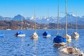 Lake Lucerne In Winter